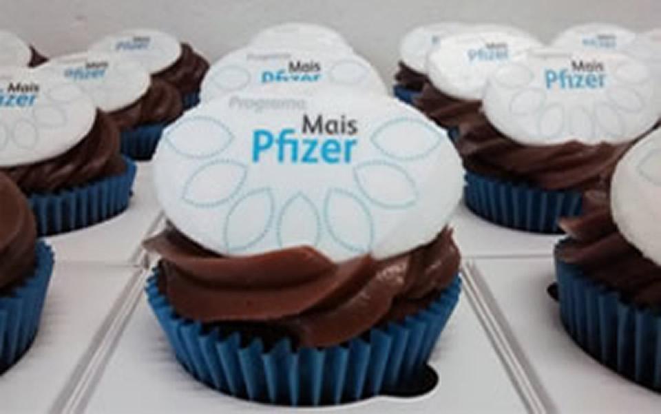 Cupcake Pfizer Mais