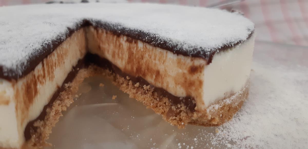 Torta Leite Ninho com Nutella