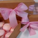 Macarons - Caixa com 25 unidades