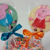 Pirulitos de Chocolate - Peppa Pig