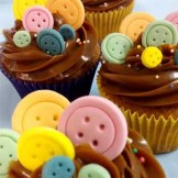 Cupcake botões