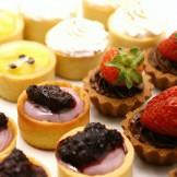 Todas as tarteletesTarteletes de limão, maracujá, amora e morango com chocolate