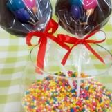 Pirulito de Chocolate com Balões