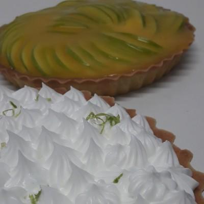 Torta de Maça Verde e Torta de Limaão